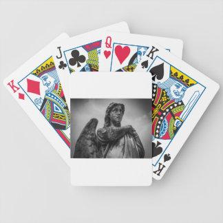 Angel Statue Poker Deck