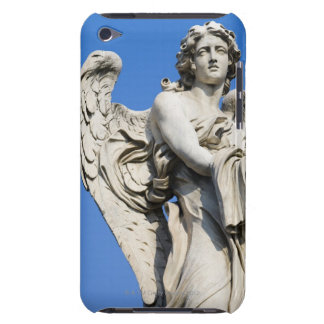 Angel statue Ponte Sant Angelo Rome Italy iPod Touch Case-Mate Case