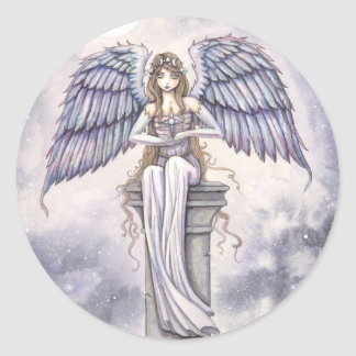 Angel Stickers by Molly Harrison Fantasy Art