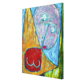 Angel Still Feminine Canvas Print