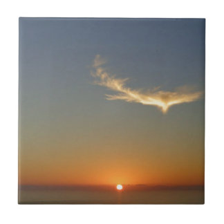 angel sunset ceramic tile