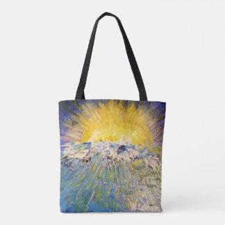 Angel Sunset Tote Bag