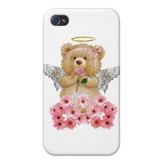 Angel Teddy Bear iPhone Case Cases For iPhone 4