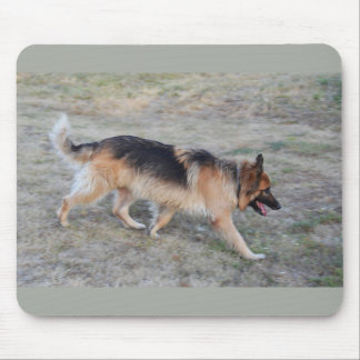 Angel the Alsatian dog Mouse Pad