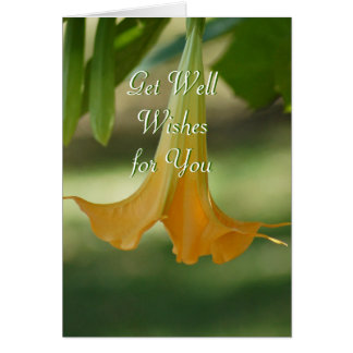 Angel Trumpet Greeting-customize any occasion Card