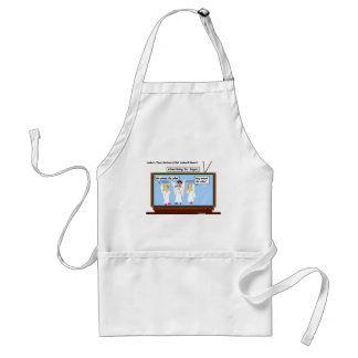 Angel TV Advertising Funny Gifts & Tees Aprons