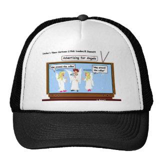 Angel TV Advertising Funny Gifts & Tees Cap