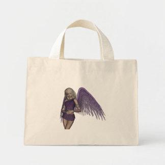 Angel Violet Charms Bag Mini Tote Bag