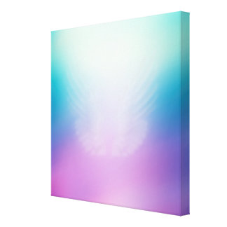 Angel Visit Modern Art Canvas Canvas Print