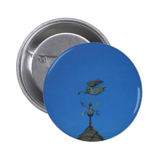 Angel Weather Vane Pinback Buttons