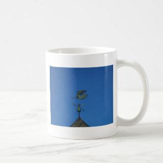 Angel Weather Vane Basic White Mug