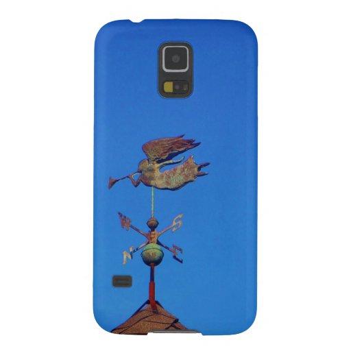 Angel Weather Vane Bright Blue Sky Samsung Galaxy Nexus Case