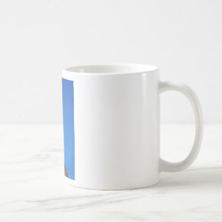 Angel Weather Vane Bright Blue Sky Coffee Mug