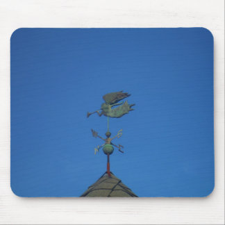 Angel Weather Vane Mouse Pad