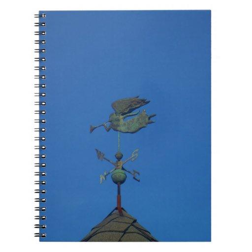 Angel Weather Vane Notebook