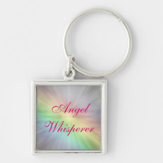 Angel Whisperer design Key Ring