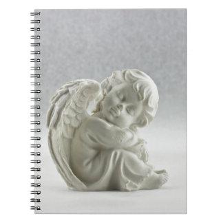 Angel White Heaven Wing Beautiful Notebooks