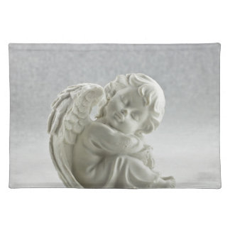 Angel White Heaven Wing Beautiful Placemat