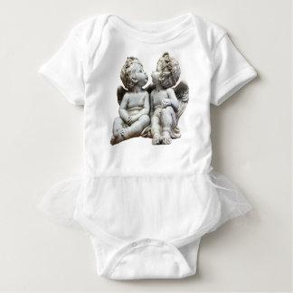 Angel Wing Fairytale Feelings Female Statue Love Baby Bodysuit