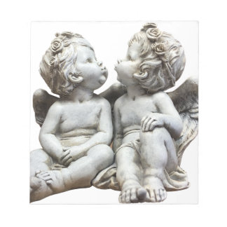 Angel Wing Fairytale Feelings Female Statue Love Notepad