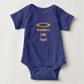 Angel Wings and Halos Customize Baby Bodysuit