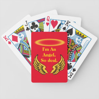 Angel Wings and Halos Customize Poker Deck