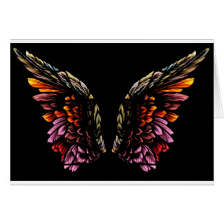 Angel Wings Card