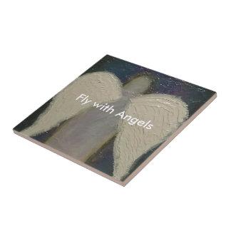 Angel Wings Ceramic Tile