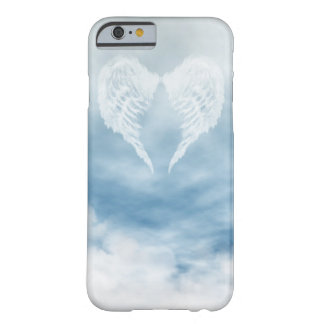 Angel Wings in Cloudy Blue Sky Barely There iPhone 6 Case