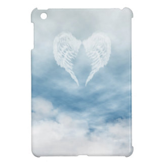 Angel Wings in Cloudy Blue Sky Cover For The iPad Mini