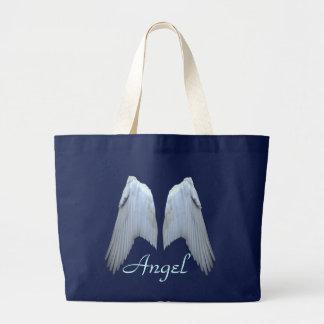 Angel Wings Large Tote Bag
