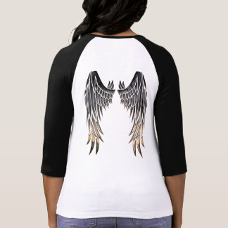 Angel wings, long sleeve tshirt