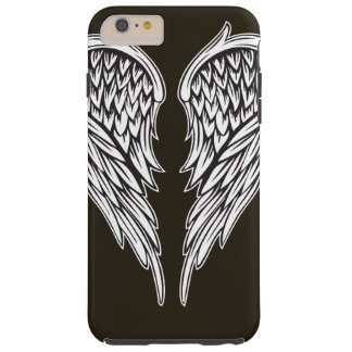 Angel wings on iPhone 7 case