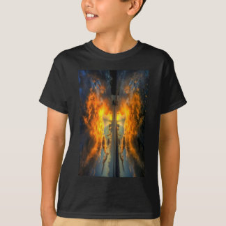 Angel Wings Sunset Tshirt