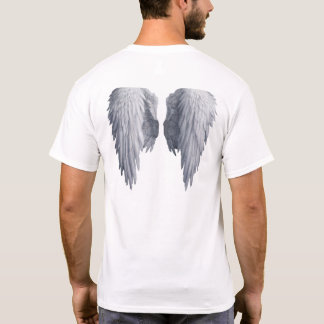 Angel wings tshirt