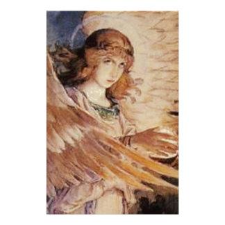 Angel With A Lamp - Viktor Vasnetsov 1885-1896.jpg Stationery