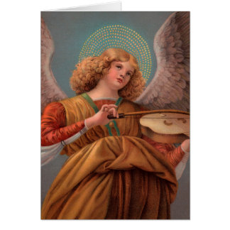 Angel with a Violin Note Card
