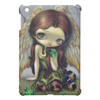 """Angel with Emeralds"" iPad Case"