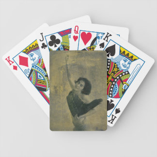 Angel with Harp Bicycle Playing Cards