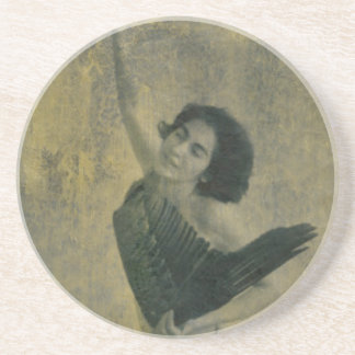 Angel with Harp Coaster