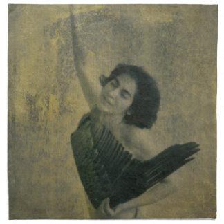 Angel with Harp Napkin