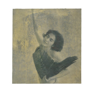 Angel with Harp Notepad