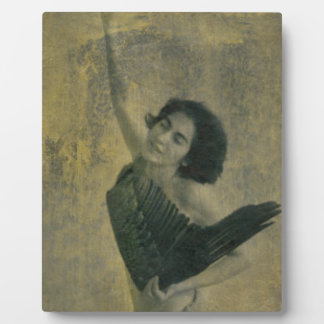 Angel with Harp Plaque