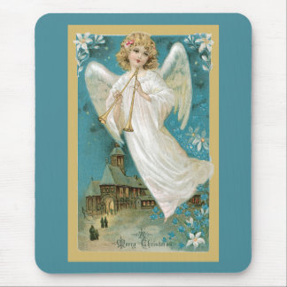 Angel With Horns Mouse Pad