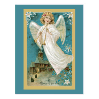 Angel With Horns Postcard
