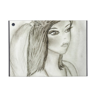 Angel with Rose iPad Mini Covers