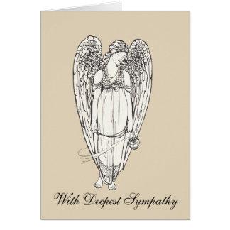Angel With Sympathy Card