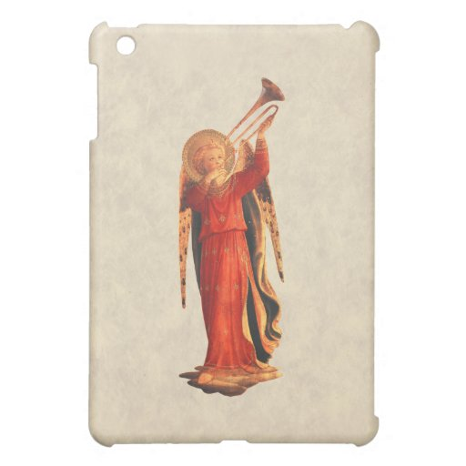 Angel with Trumpet Cover For The iPad Mini