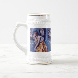Angel with White Dove Coffee Mug