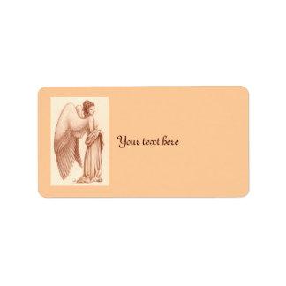 Angel Woman Address Label